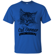 Cat Owner and Proud T-Shirt