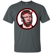 Scary Trump Devil Horns T-Shirt