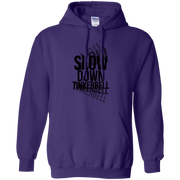 Slow Down Tinkerbell Trippy Words Hoodie
