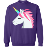 Unicorn Face Emoji Sweatshirt