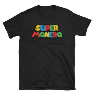 Super Monero Crypto Parody T-Shirt