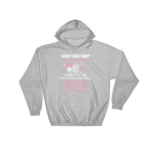 Dear Yarn Shop Crocheting Hoodie