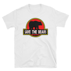 Save The Bears Jurassic Parody T-Shirt