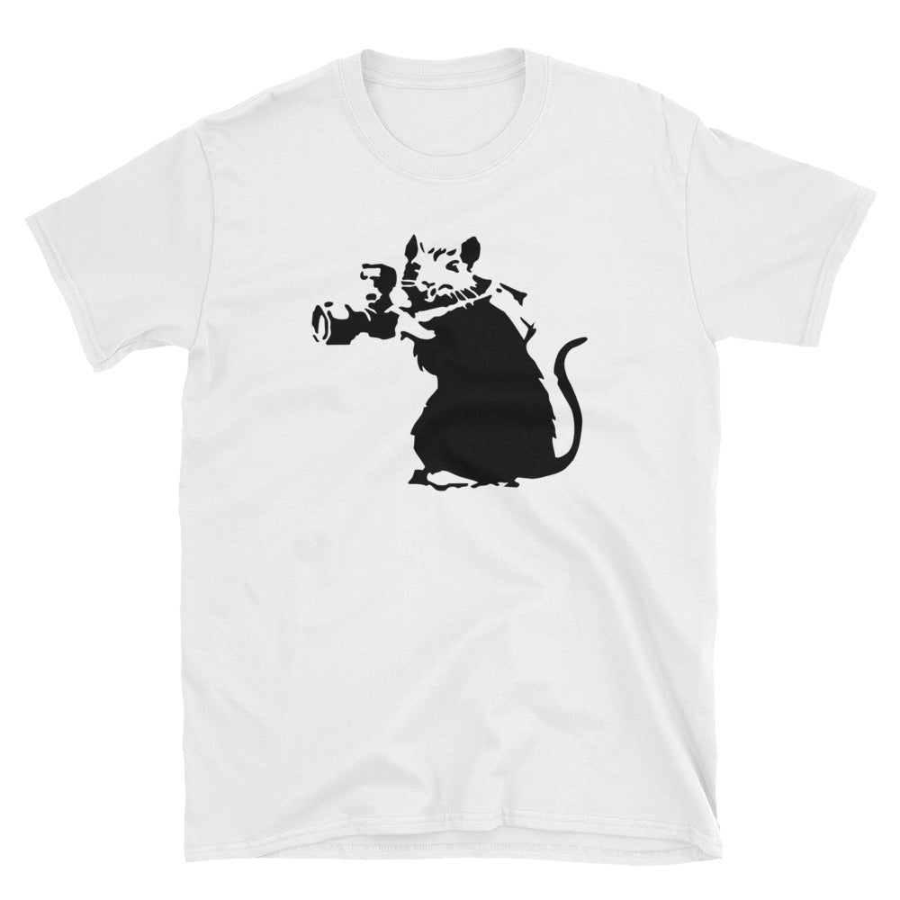 Banksy Rat Photographer T-Shirt