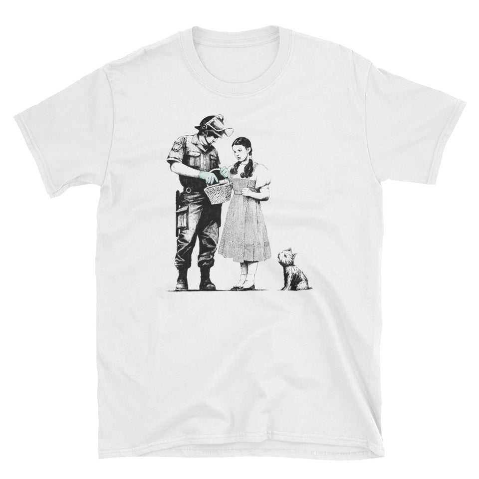 Banksy Dorothy Police Search T-Shirt