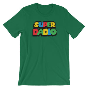 Super Dadio Gamer Parody T-Shirt