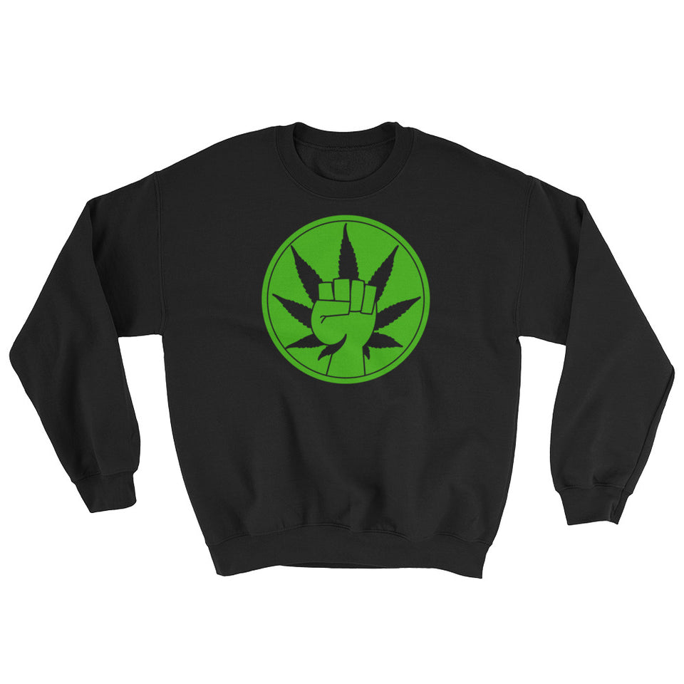 Power to Cannabis Advocates Sweatshirt