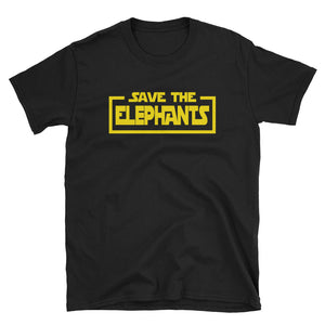Save the Elephants Star Parody T-Shirt