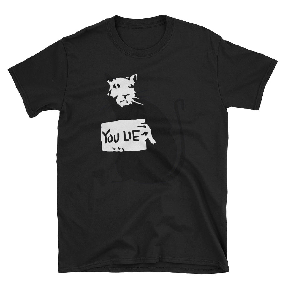 Banksy Rat You Lie T-Shirt