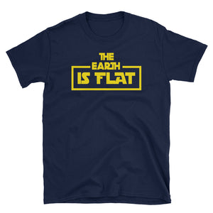 The Earth is Flat Movie Parody T-Shirt
