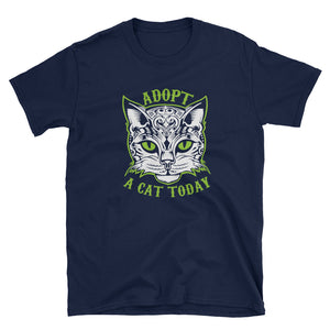 Adopt A Cat Today T-Shirt