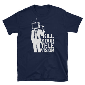 Kill Your Television Banksy Inspired T-Shirt