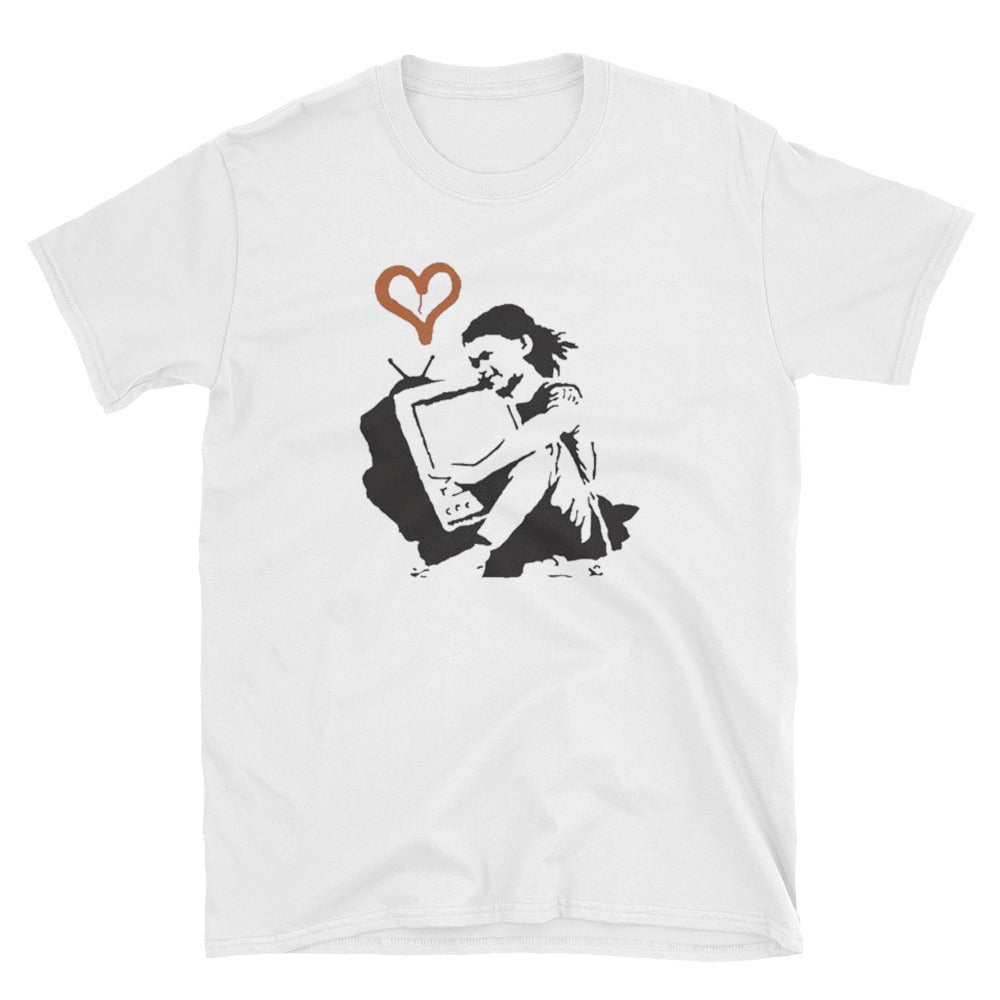 Banksy Love Your Televison T-Shirt