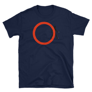 Banksy Inspired Thinking outside the Circle T-Shirt