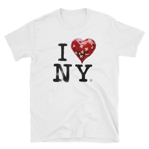 Banksy Inspired i Love New York T-Shirt