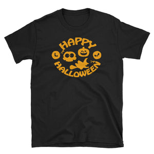 Simple Happy Halloween Costume T-Shirt