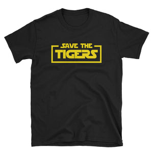 Save the Tigers Star Parody T-Shirt