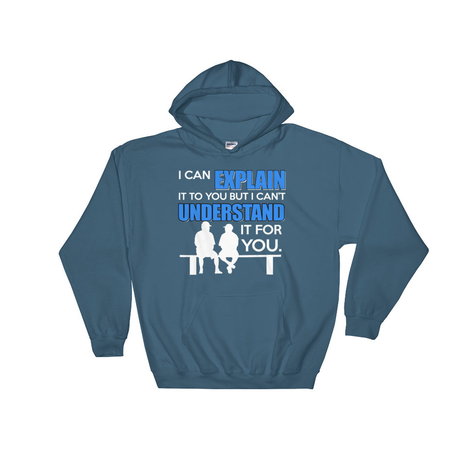 I Can Explain it To You But i Can't Undertand it For You Hoodie