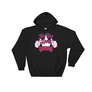 This Girl Loves America Hoodie