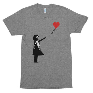 Banksy Letting Love Go (Balloon Girl) Premium T-Shirt