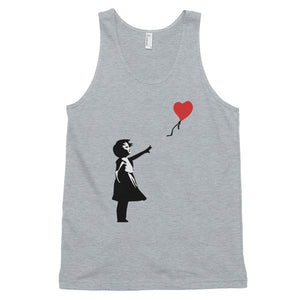 Banksy Letting Love Go ( Balloon Girl) Tank Top