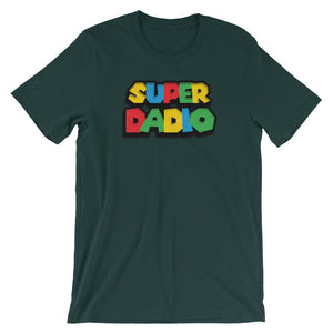 Super Dadio Fathers Day Parody T-Shirt