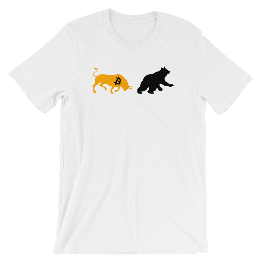 Bitcoin Bull vs Bear T-Shirt