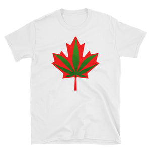 Canada Legalised Cannabis Leaf/Leaves T-Shirt