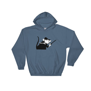 Banksy Rat With Sword Hoodie