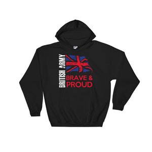British Army Brave and Proud Hoodie