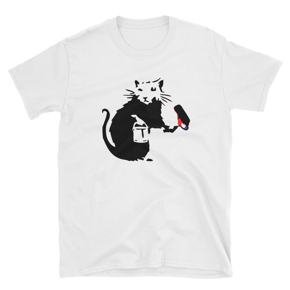 Banksy Graffiti Rat Painter T-Shirt