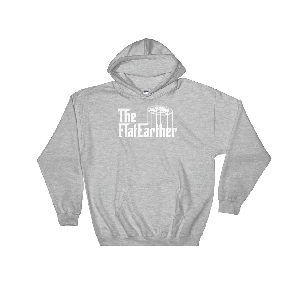 The Flat Earther! Flat Earth Society Parody Hoodie