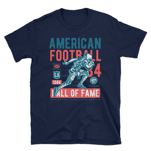 American Football Hall Of Fame Vintage Poster T-Shirt