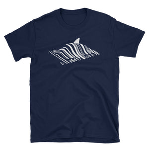 Shark Barcode! Banksy Inspired T-Shirt
