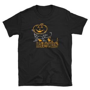 Pumpkin Girl Halloween Costume T-Shirt