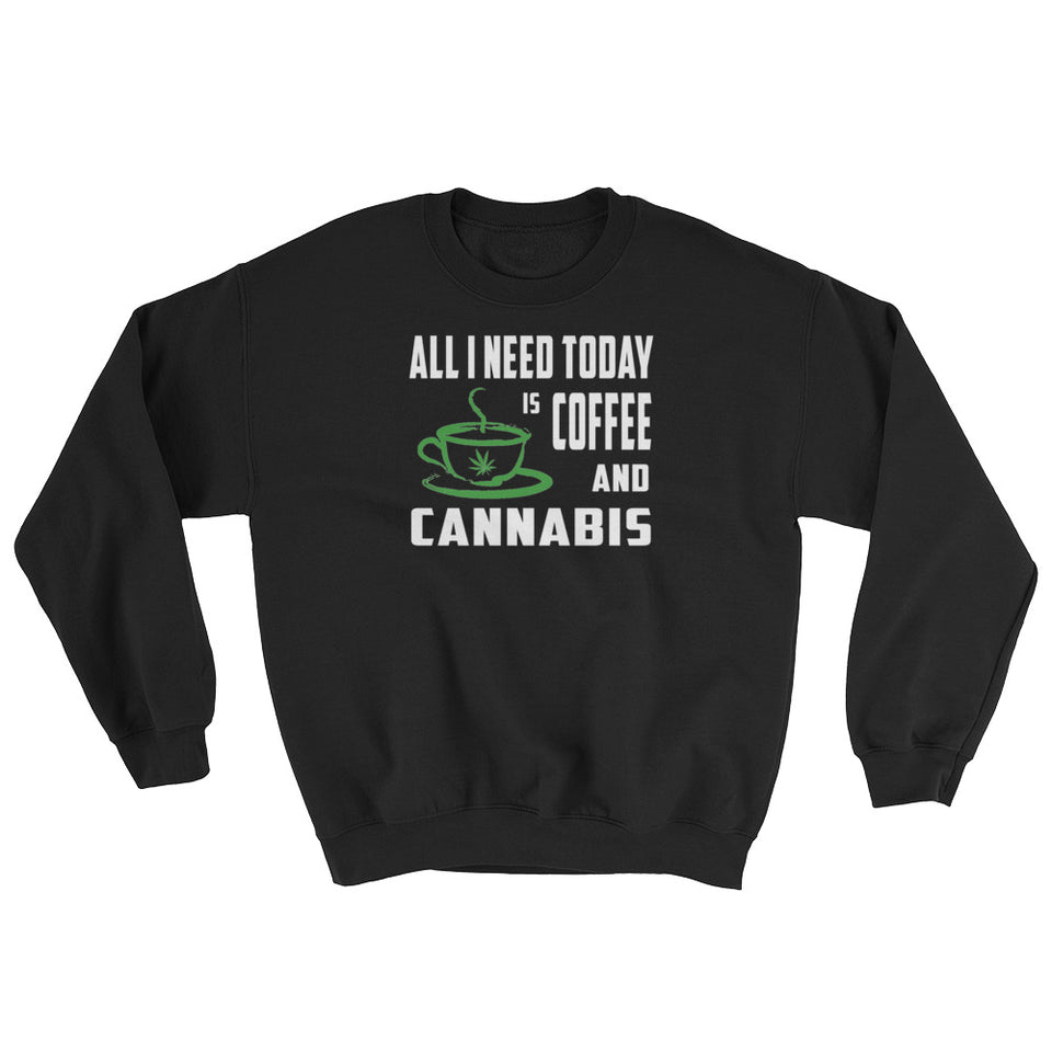 Coffee & Cannabis Sweatshirt