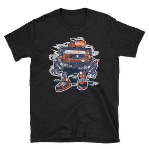 Zombie Cassette Tape Halloween T-Shirt