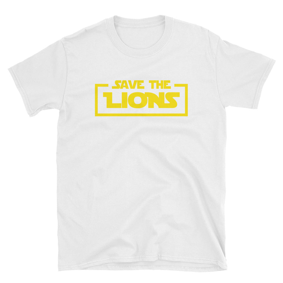 Save the Lions Star Parody T-Shirt
