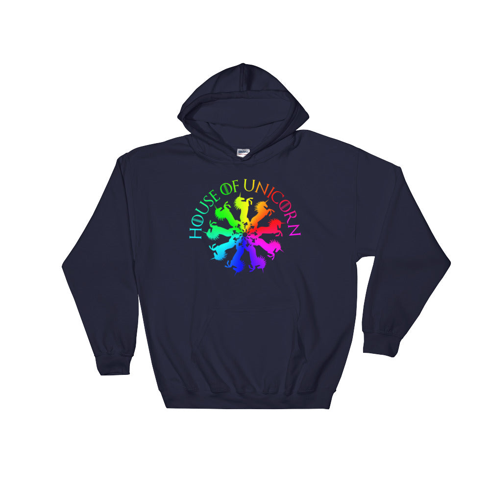 House of Unicorns Rainbow Parody Hoodie