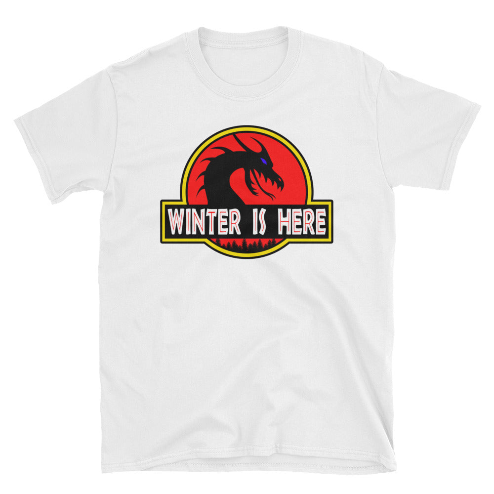 Winter is Here! Jurassic Dragon Parody T-Shirt