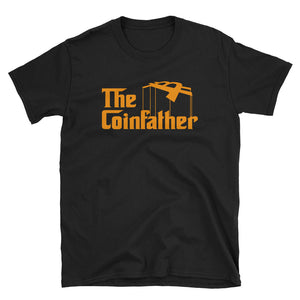 The Coin Father Crypto Bitcoin Parody T-Shirt