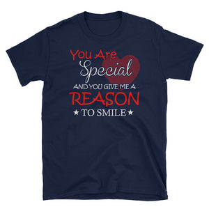 You Give Me Reason To Smile Quote T-Shirt