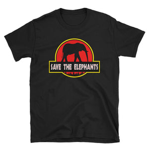 Save The Elephants Jurassic Parody T-Shirt