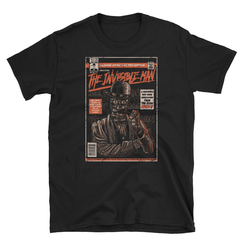 The Invisible Man Parody Movie Poster T-Shirt