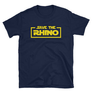 Save the Rhino Star Parody T-Shirt