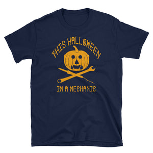 This Halloween I'm A Mechanic Costume T-Shirt