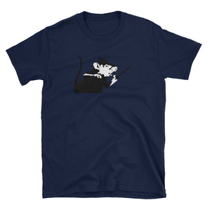 Banksy Rat with Sword T-Shirt