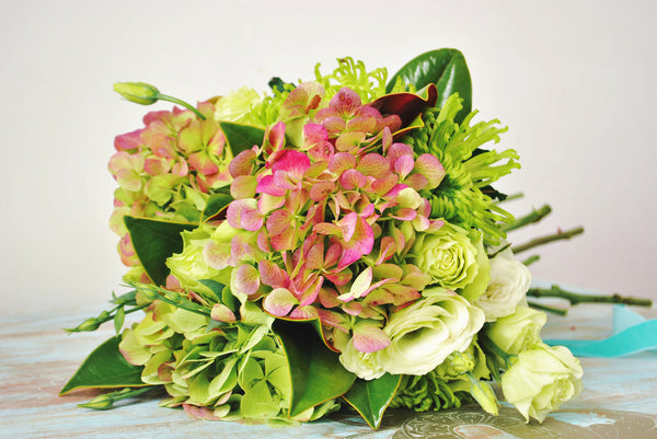 Waiheke Flower Company | New Zealand | Bouquet | Pretty In Pink & Green