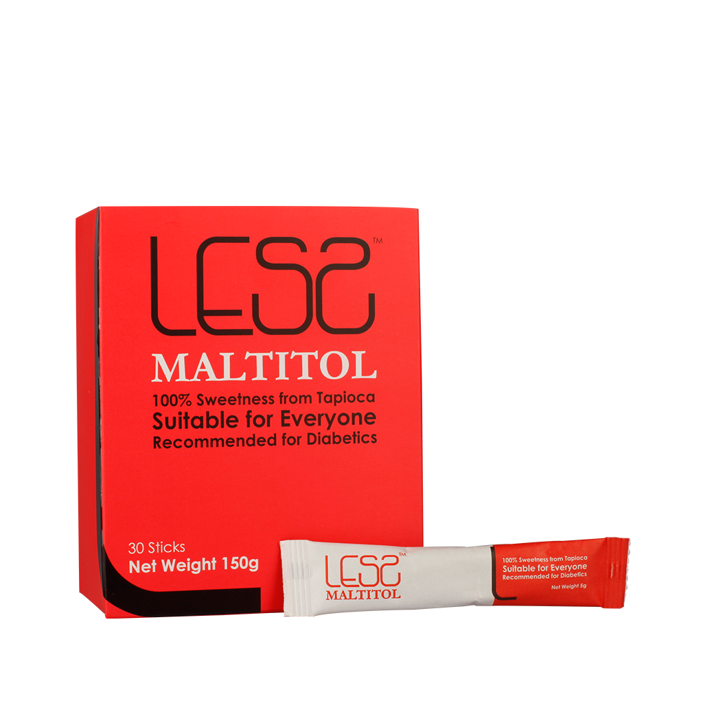 Lesz Maltitol Sugar Replacer Sweetness from 100% Non-GM Tapioca 30Sachets x 5g