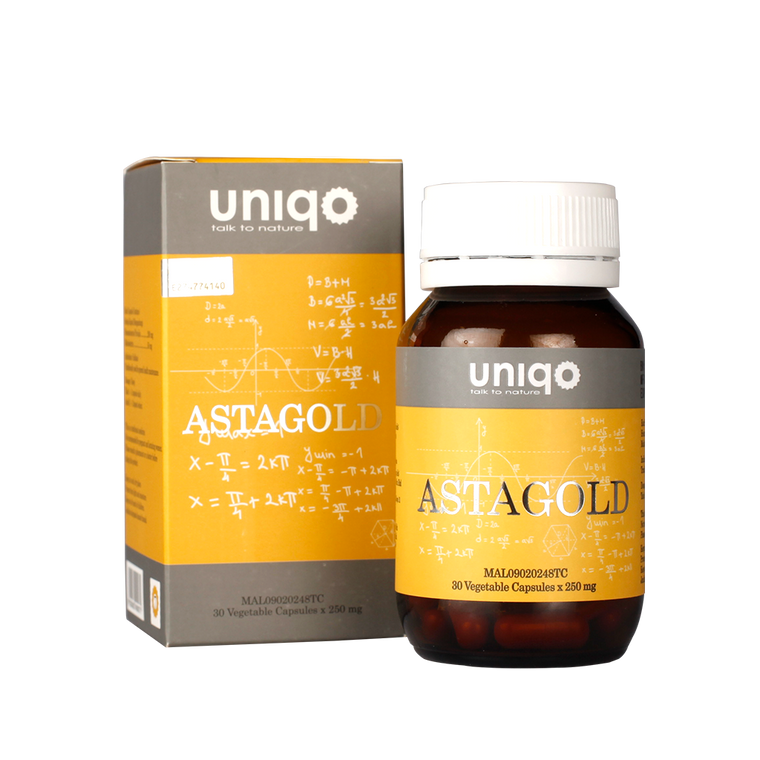 AstaGold Astaxanthin Antioxidant 30Capsules x 250mg
